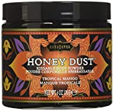 Kama Sutra Honey Dust: Tropical Mango, Körperpuder, Dose mit 170g + Feder-Applikator -