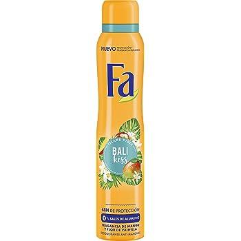 Fa - Desodorante Spray Bali Kiss - Fragancia de sandia e Ylang Ylang - 2 uds de 200ml: Amazon.es: Belleza