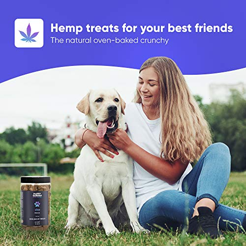 Product Image 3: Happy Garden New Hemp Biscuit Treats For Dogs – Reducing Anxiety & Aggressive Behaviour – Result of Storms, Fireworks & Abandonment 200mg