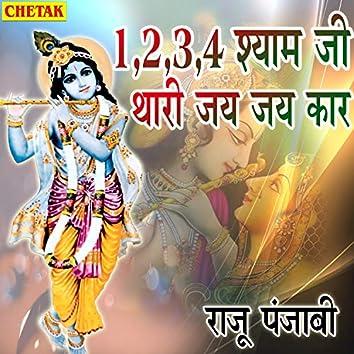 1,2,3,4 Shyam Ji Thari Jay Jay Kar