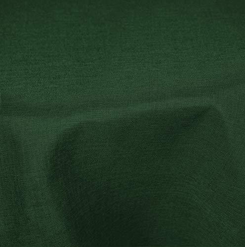 Tafelkleed 180 cm Ø rond structuur linnenlook gecoat water en vuilafstotend lotuseffect #1181