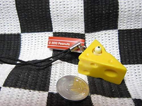 2010 ピーナッツ スヌーピー ストラップ チーズ 黄色
