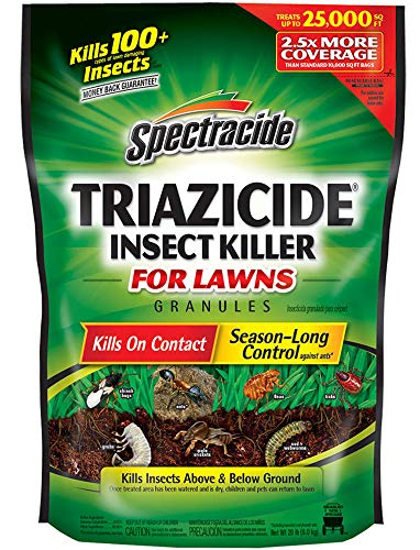 Spectracide Triazicide Insect Killer For Lawns Granules, 20-Pound