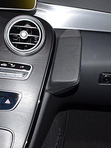 KUDA 1295 Halterung Kunstleder schwarz für Mercedes C-Klasse (W205/S205) ab 2014