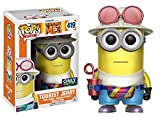 Funko - GRU, Me 3-Tourist Jerry (Metalizado), Figura Multicolor, 15075
