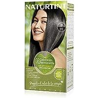 Naturtint. Tinte Sin Amoniaco. Ingredientes Vegetales. 1N Negro Ébano. 170 ml