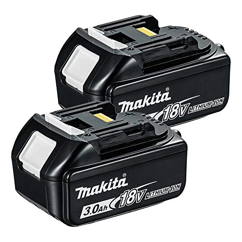 Photo of Makita 2BL1830 BL1830 18v 3.0Ah Li-ion LXT Battery Twin Pack for Makita DSS611,18 V
