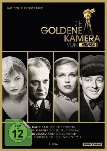 Die Goldene Kamera von Hörzu - Nationale Preisträger [4 DVDs]