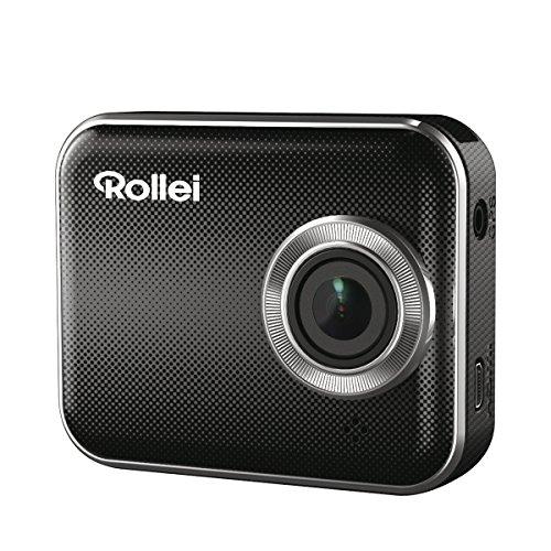 Rollei CarDVR-210 WiFi GPS (Auto-Kamera, Videoauflösung 2304 x 1296/30 fps, Loop-Funktion, 160° Ultra-Weitwinkel-Objektiv)