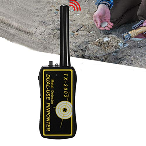 H-COME High Sensitivity Adjustable Handheld Metal Detector Long Distance Treasure Archaeological Gold Underground Metal Detector for Adult and Kids Detectors Metal