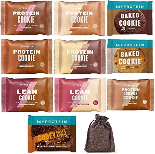 マイプロテイン プロテインクッキー バラエティパック(MYPROTEIN Protein Cookie Variety Pack)