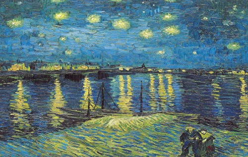 2000 Pieces Jigsaw Puzzle Starry Night Over The...