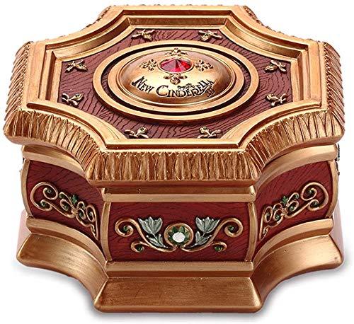 XWYYYH Música Caja de música Caja de Enviar a los niños cumpleaños de los niños Creativa girando joyero Y6Y8H3
