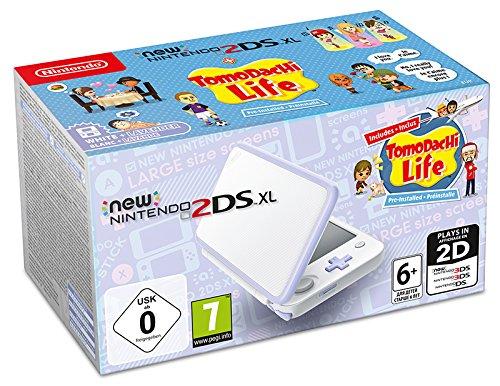 New Nintendo 2DS XL Bianco e Lavanda + Tomodachi Life