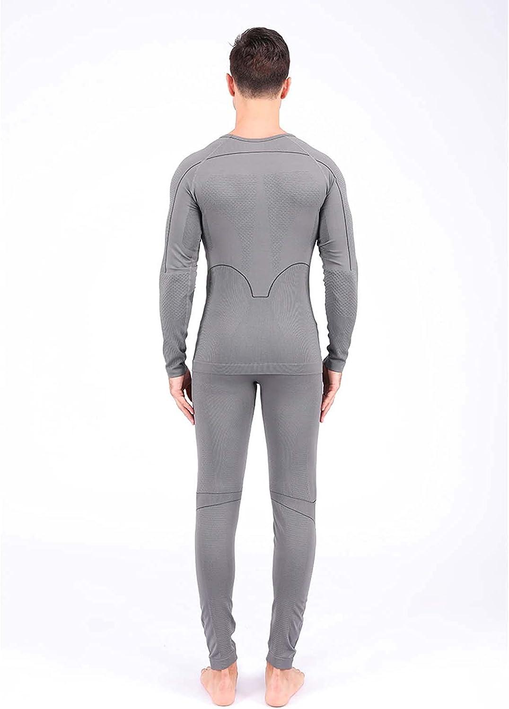 CCCYT Thermal Underwear for Men Long Johns for Men, Base Layer Men for Cold Weather