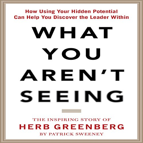 What You Aren't Seeing audiobook cover art