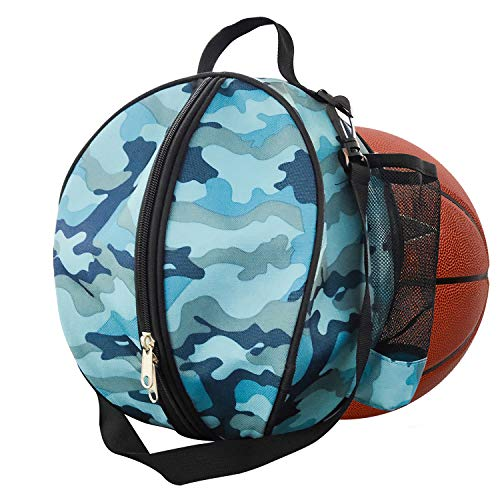YLX Basketball Tragetasche mit Verstellbarer Schulterriemen Wasserdichter Sport Balltasche Umhängetasche für Volleyball Fußball Sport Ball
