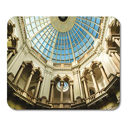 NA Tappetini per Mouse London UK 15 Ottobre Interno della Tate Gallery Mouse Pad Originale per Notebook, Computer Desktop, tappetini per Ufficio