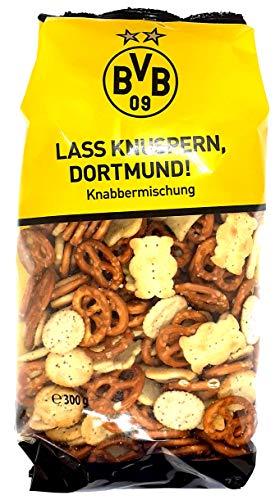 Snackline Borussia Dortmund BVB Knabbermischung 1er Pack (1 x 300g)