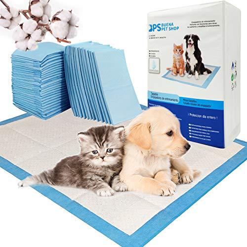 BPS® Empapadores de Entrenamiento para Perros Gatos Perfumes con Feromonas para Atraer los Cachorros y Simplificar el Entrenamiento (20pcs 50 * 40 cm) BPS-2165 * 2