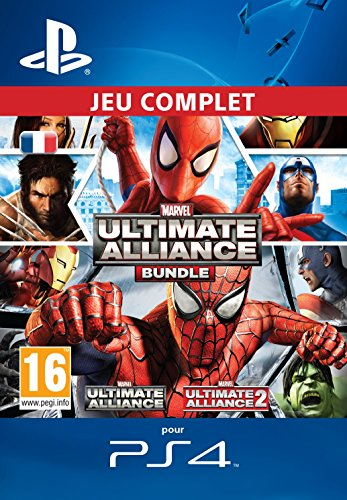 Marvel: Ultimate Alliance Bundle [Extension de Jeu] [Code Jeu PSN PS4 - Compte français]