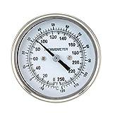 Blusea Haute précision en Acier Inoxydable Acier Four thermomètre température Calibre Maison Cuisine Nourriture Viande Dial