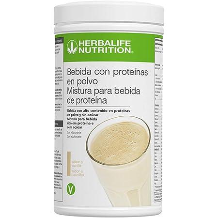Herbalife - Bebida con Proteínas en Polvo sabor a Vainilla ...