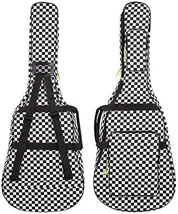 57ba4a14823 40 41 Inch Acoustic Folk Wood Guitar Gig Bag 600D Oxford Soft Case Cover  Water-