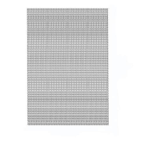 Abimars - Rete metallica intrecciata in acciaio inox, a prova di roditori, protezione da giardino, zanzariera, 1 mm, formato A3 (300 x 420 mm)
