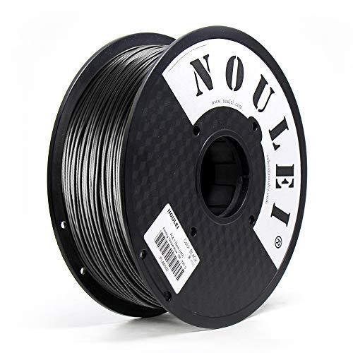 Noulei filamento stampante 3d, PLA 1.75 filamenti per stampa 3D, 1 kg per bobina, Rosso