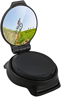 Honeytecs Cycling Mirror Riding Wrist Band Rotatable Rear View Mirror for Road Bike Motorbike Riders