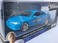 JADA toys 1/24 ワイルドスピード ミニカー ACURA INTEGRA DC2 ミア MIA'S FAST & FURIOUS ワイスピ アキュラ インテグラ レア