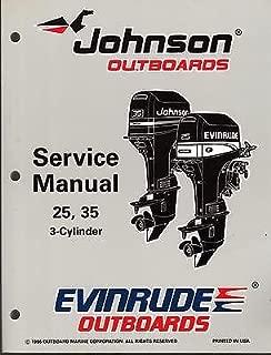 1997 OMC EVINRUDE JOHNSON OUTBOARD 25 & 35 HP SERVICE MANUAL P/N 507264 (835)