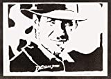 Indiana Jones Poster Plakat Handmade Graffiti Street Art - Artwork