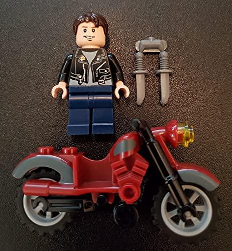 LEGO Indiana Jones: Mutt Williams Mini-Figurine Avec Poignard