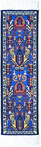 Oriental Carpet Bookmarks Tientsin - Authentic Woven Carpet - RUG BOOKMARKS - Beautiful, Elegant, Woven Cloth Bookmarks! Best Gifts for Men Women Adults Teens Teachers & Librarians!