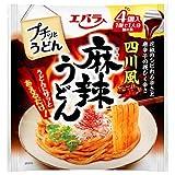 エバラ食品 プチッとうどん 四川風麻辣うどん 88g(22g×4個)×12袋入