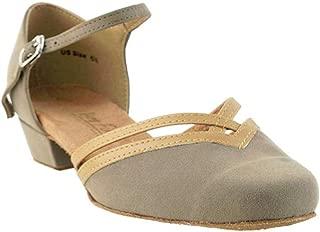 Ladies Women Ballroom Dance Shoes EK8881 with 1