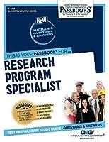 Research Program Specialist (Career Examination)