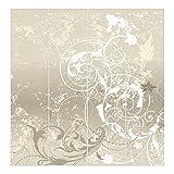 Bilderwelten Cortinas deslizables set - Nacre Ornament Design - 4 Paneles japoneses,...