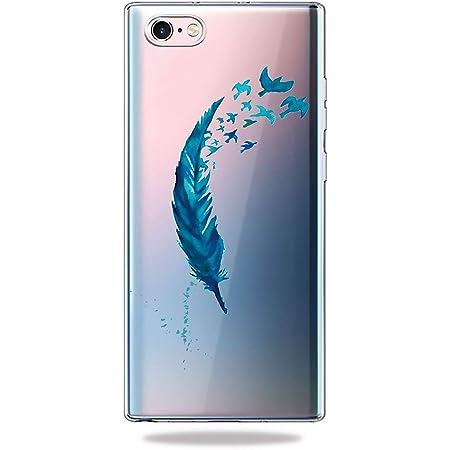 Coque Samsung Galaxy A50 Silicone, AChris Étui Samsung Galaxy A50 Original Silicone Transparent avec Motif Anti Rayures Shock-Absorption Housse de ...