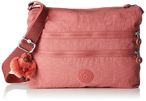 Kipling - Alvar, Bolsos bandolera Mujer, Rosa (Dream Pink), 4.5x33x26 cm (B x H T)