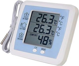 YIN YIN, higrómetro Temperatura, Alta precisión de visualización Digital de la Temperatura del termómetro higrómetro Inter...
