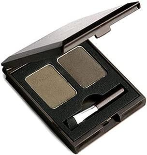SKIN FOOD Choco Eyebrow Powder Cake (#1 Grey Khaki Black) - Eyebrow Powder Duo, Natural Eyebroow Makeup, Natural Cacao Elemnet Contained