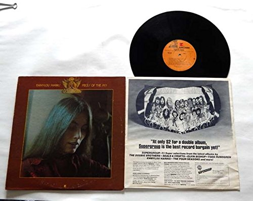 """Emmylou Harris PIECES OF THE SKY- Reprise Records 1975 - Vinyl LP Record - """"Bluebird Wine"""" """"Too Far Gone"""" """"Boulder To Birmingham"""" """"Queen Of the Silver Dollar"""""""