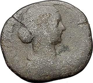 1000 IT Faustina II wife of Marcus Aurelius Sestertius A coin Good
