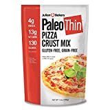 Julian Bakery | Paleo Thin | Pizza Mix | Easy To make | Grain-Free | Gluten-Free | Lower In Carbs | Makes Two 10' Pizza Mix