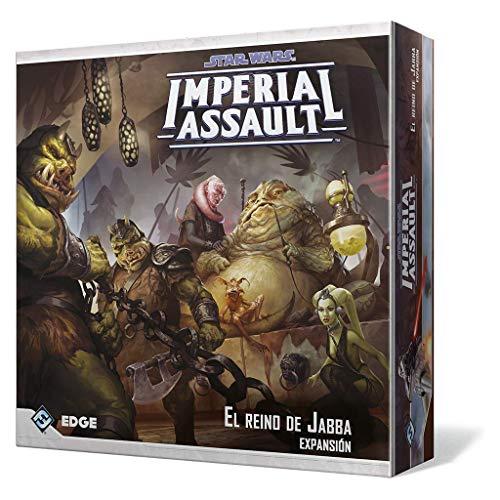 Fantasy Flight Games-Star Wars El Reino de Jabba, colección Imperial Assault...