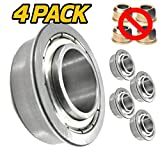HD Switch (4 Pack) Front Wheel Bearings Replaces Toro 114-1640 TimeCutter, Exmark Quest, Radius,...