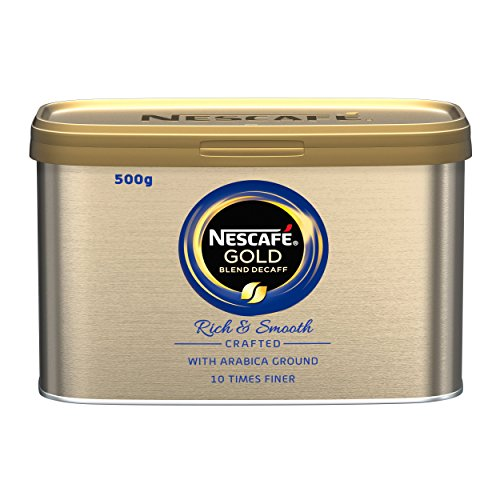NESCAF? Gold Blend Instant Decaffeinated Coffee Tin, 500g